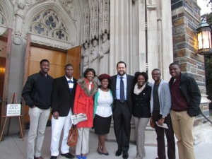 Nubian Message Staff with Ben Jealous